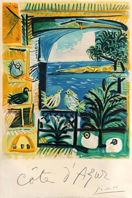 Pablo Picasso, 'Cote d 'Azur', 1957, Goldmark Gallery