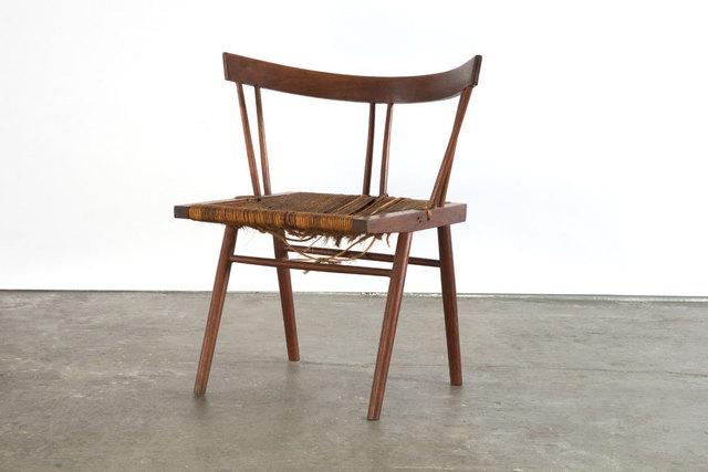 , 'Prototype grass seat chair,' 1947, Sebastian + Barquet