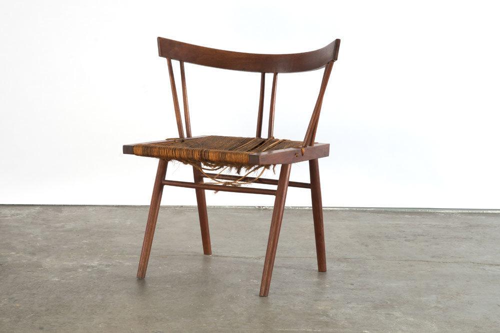 George Nakashima, U0027Prototype Grass Seat Chairu0027, 1947, Sebastian + Barquet
