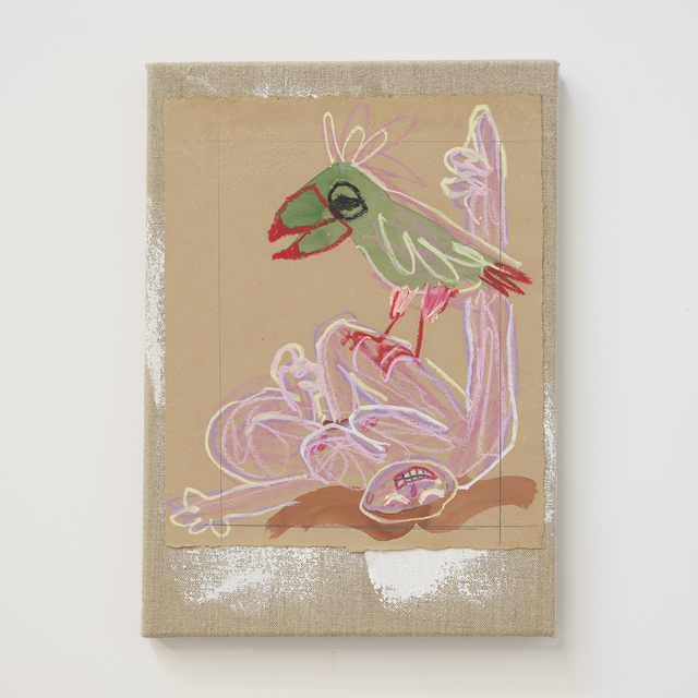 , 'parrotpainting,' 2017, Kasia Michalski Gallery