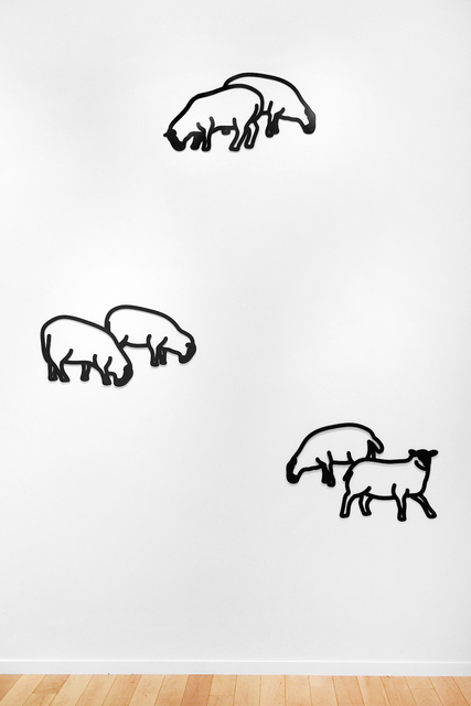 , 'Nature 1 - Sheep,' 2015, Jonathan Novak Contemporary Art