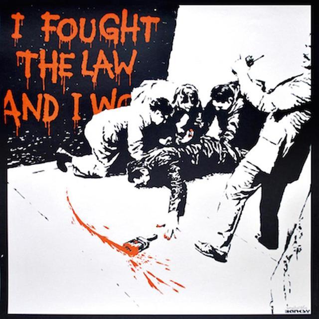Banksy, 'I Fought the Law', 2004, Dallas Collectors Club