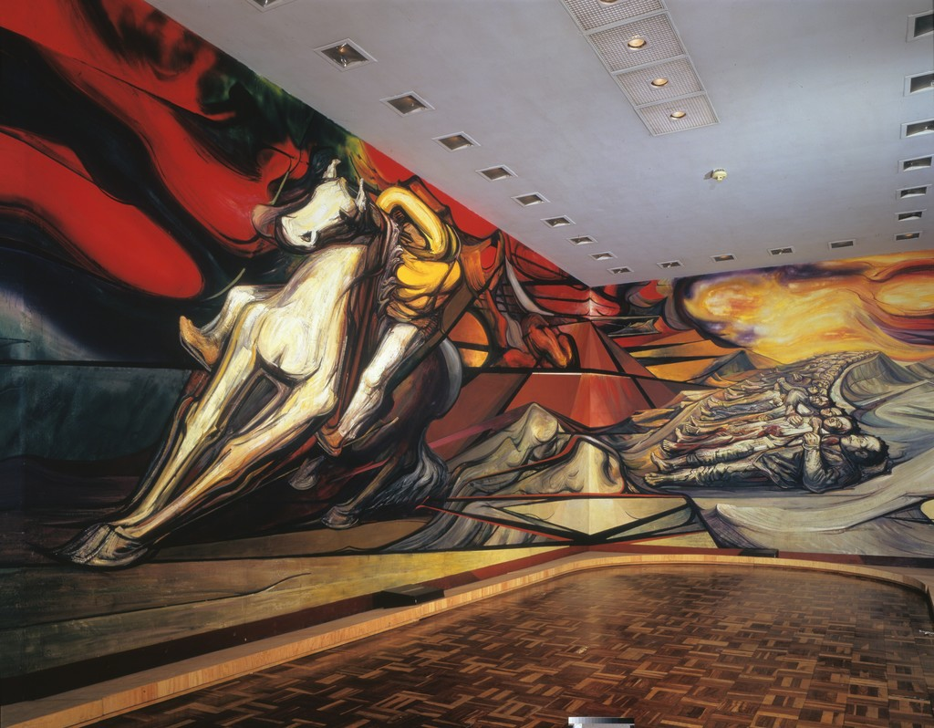 David Alfaro Siqueiros | From Porfirio's Dictatorship to ...