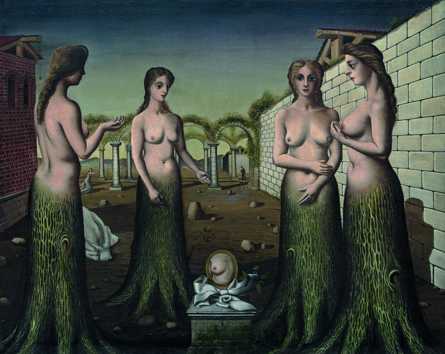 Paul Delvaux, 'The Break of Day (L'aurore)', July 1937, Guggenheim Museum