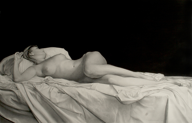 David Warren, 'Reclining Nude', 2014, Charles Nodrum Gallery