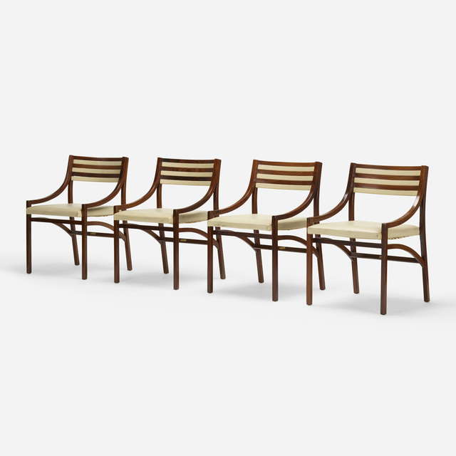 Ico Parisi, 'dining chairs model 110, set of four', 1961, Wright