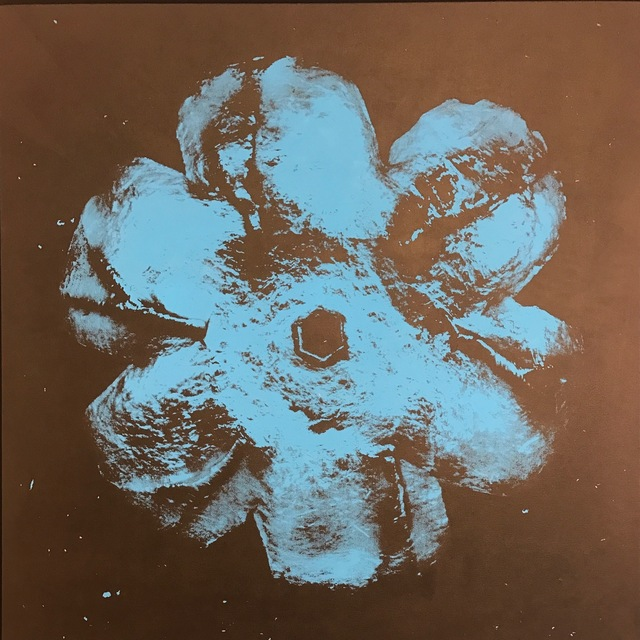 , 'Power Flower N-2 (Blue on black),' 2016, Octavia Art Gallery