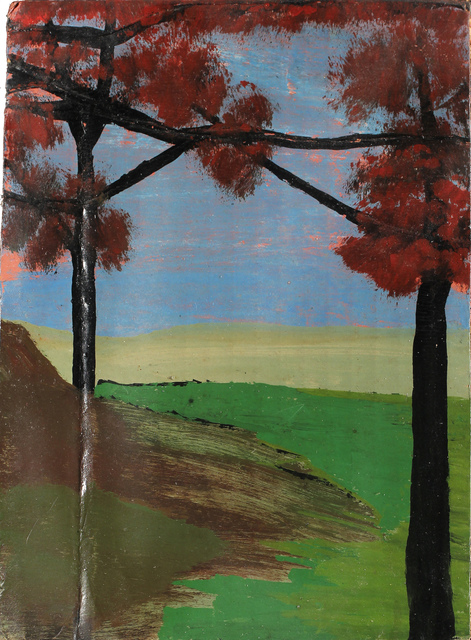 , 'Trees with Crossed Branches,' n.d., Hirschl & Adler
