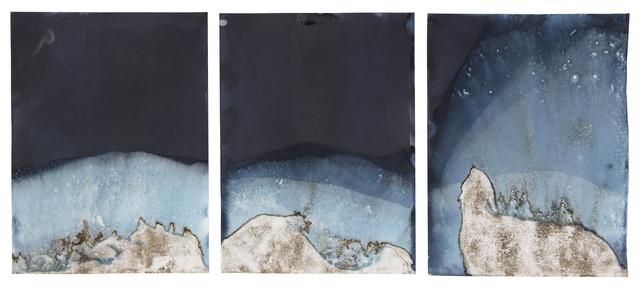 , 'Muybridge Tides #44 (Rapidly Submerged Paper, Tower Beach, Hilton Head, SC, 05.03.18),' 2018, Jackson Fine Art