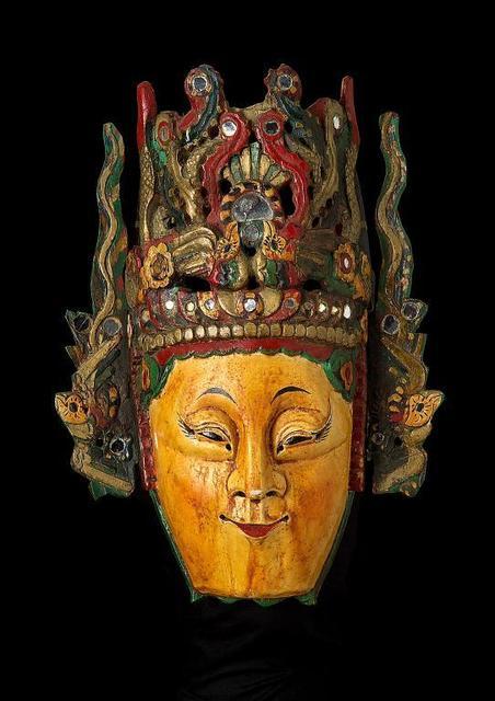 , 'Female character,' mid-20th century, Musée national des arts asiatiques - Guimet