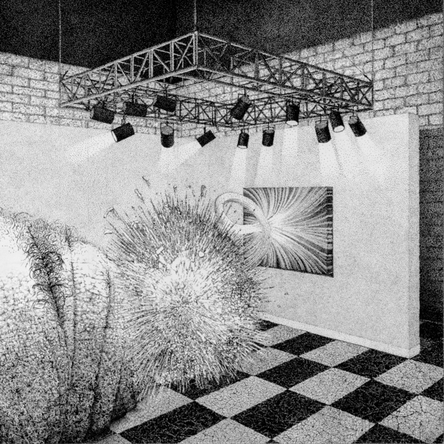 Anthony Baab, 'Calamatous Epiphany in the Salon ', 2018, Haw Contemporary