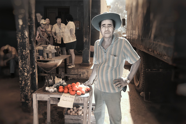 , 'Man Selling Tomatos,' 2013, The Perfect Exposure Gallery