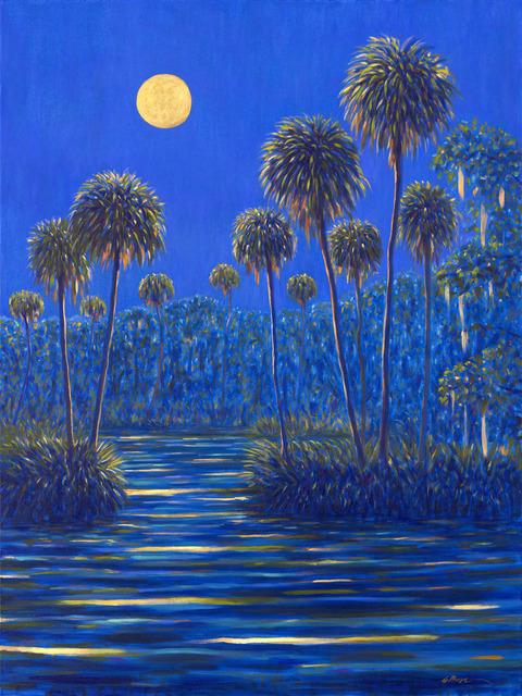 , 'Midnight Moonrise,' 2019, 530 Burns Gallery