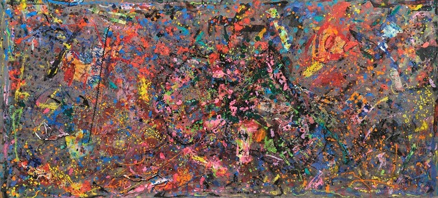 , 'The great barrier reef,' 1991, Pacita Abad Art Estate
