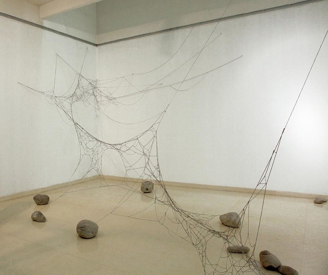 , 'A Splendid Web from Heaven to Earth,' 2013, 10 Chancery Lane Gallery