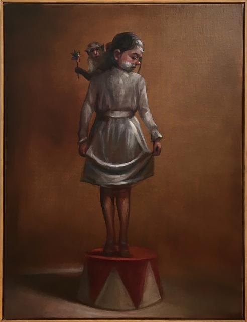 , 'Caroline on a pedestal,' 2018, StolenSpace Gallery