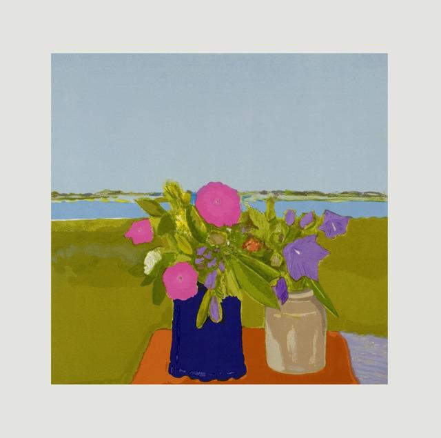 Jane Freilicher, 'Light Blue Above', 2010, Jungle Press