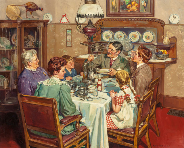 Harold Anderson, 'A Good Table is an American Tradition', 1940, The Illustrated Gallery