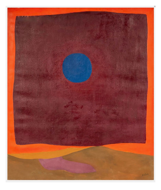 , 'Abstraction with Blue Moon,' 1964, Robert Fontaine Gallery