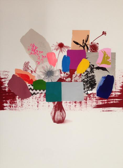 , 'Paper Bouquet (Scarlet Vase),' 2017, Newzones