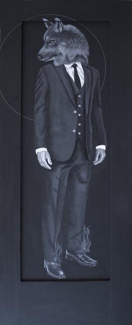 , 'Wolfman II,' 2018, Coagula Curatorial