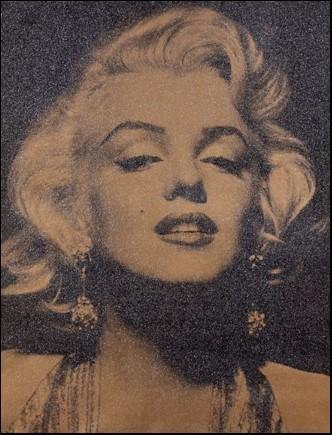 , 'Marilyn Portrait,' 2013, Mark Hachem Gallery