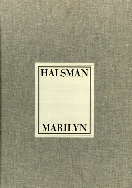 , 'Marilyn Portfolio,' 1981, Be-hold