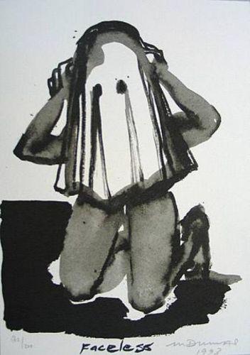 Marlene Dumas, 'Faceless', 1993, Léna & Roselli Gallery