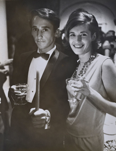 , 'Ed Ruscha and Patty Callahan at the Opening Reception, Duchamp Retrospective, Pasadena Art Museum,' 1963, Robert Berman Gallery