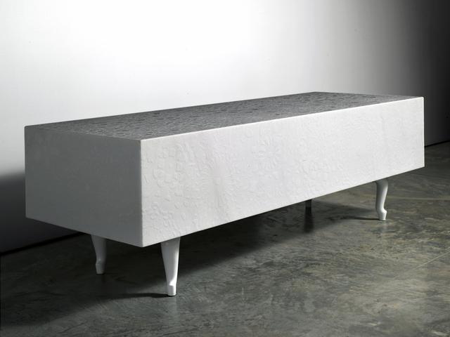 Marcel Wanders, 'Pizzo Carrara Bench', 2011, Friedman Benda