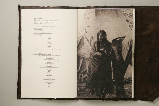 , 'The Lost Journals of Sacajewea,' 2010, Seager Gray Gallery