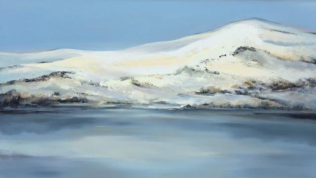 , 'Fly Over the Dunes- Snow,' 2018, Tao Water Art Gallery