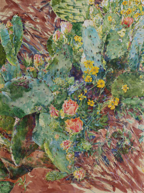 , 'Big Cactus,' , Davis Gallery & Framing