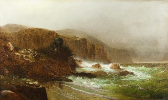, 'Seascape,' 1866, Questroyal Fine Art