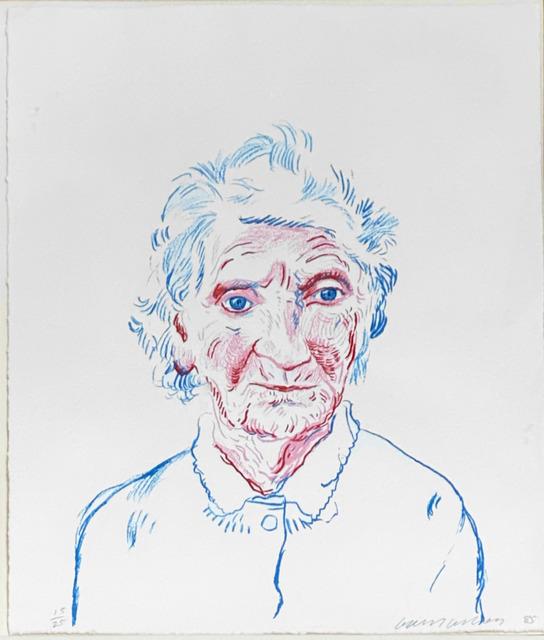 David Hockney, 'Portrait of Mother 3 ', 1984, Fairhead Fine Art Limited