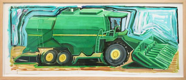 , 'Corn Combine,' 2013, Rosamund Felsen Gallery