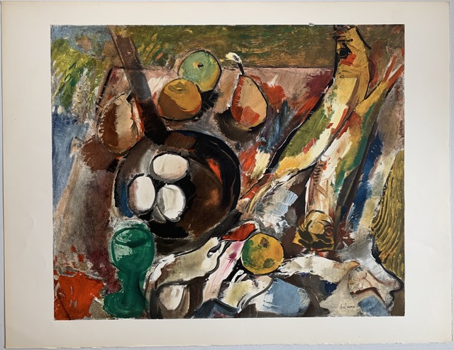 Charles Dufresne, 'Nature Morte Fruits et Légumes', 1920 / Printed 1971, Print, Lithographic poster on Arches vellum, Puccio Fine Art