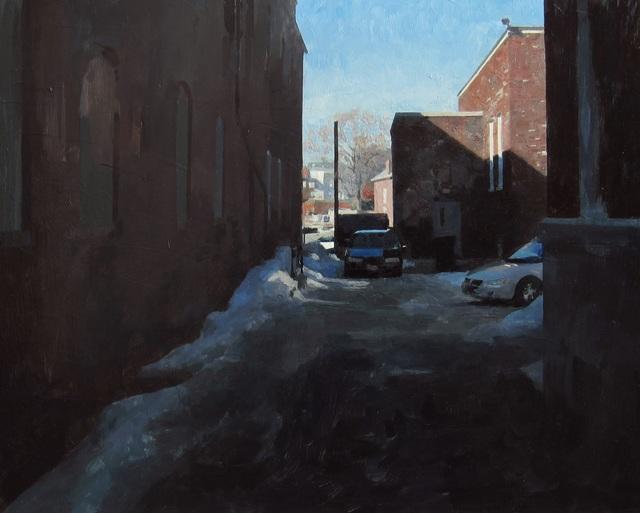 , 'Alleyway,' 2013, Gallery 1261