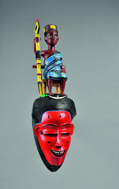 , 'Mask,' 1985, Musée du quai Branly