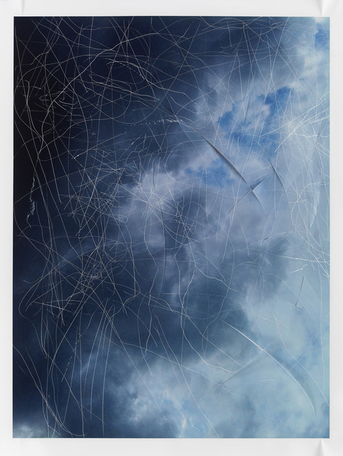 , 'study for scratching the sky,' 2011-2012, Anthony Meier Fine Arts