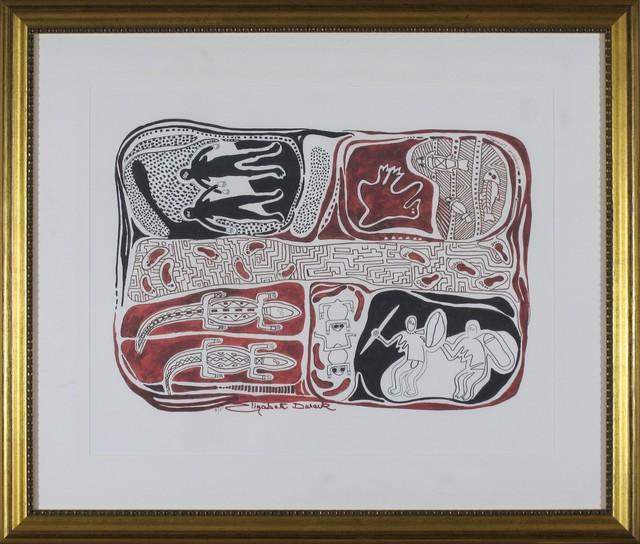 Elizabeth Durack, 'The Beginning of Lake Naran', 1935-2000, Wentworth Galleries