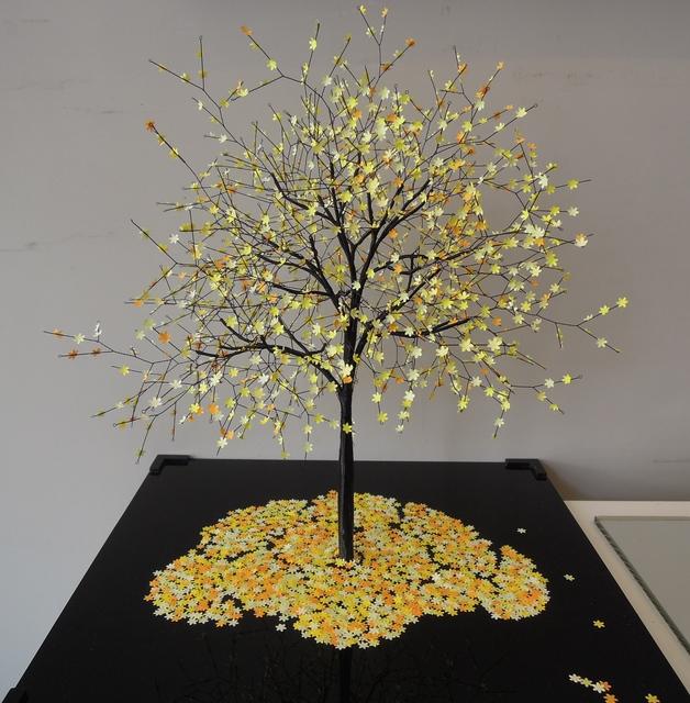 , 'Cherry Blossom Yellow,' 2016, Bernard Chauchet Contemporary Art