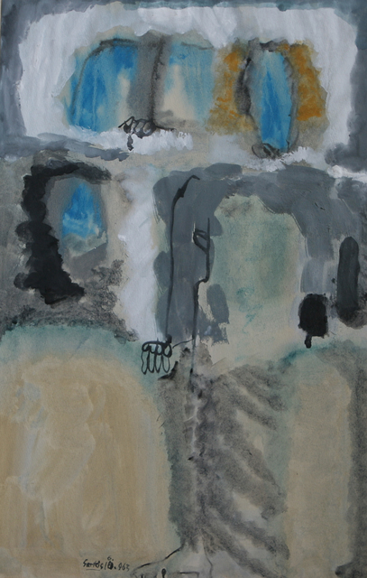 Sarkis, 'Untitled (1963.10.6)', 1963, Drawing, Collage or other Work on Paper, Mixed media on paper, Galerie Nathalie Obadia
