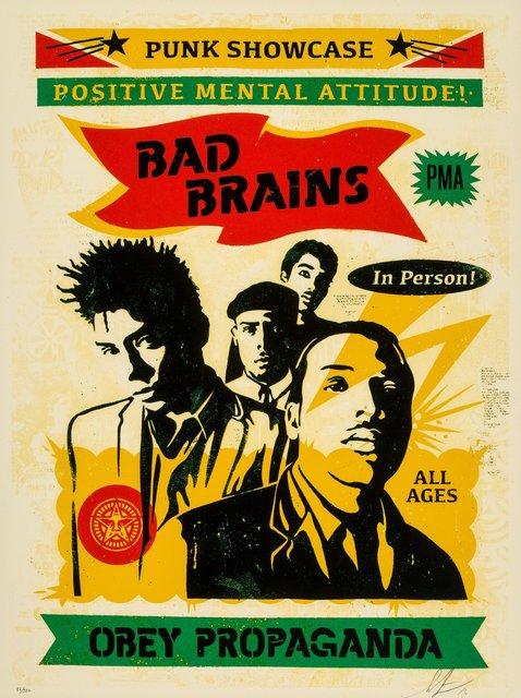 Shepard Fairey, 'Bad Brains Punk Showcase (Rasta)', 2016, Heritage Auctions