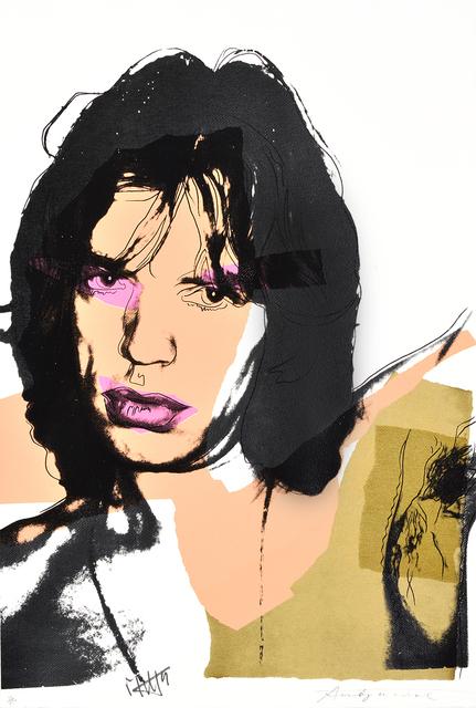 Andy Warhol, 'Mick Jagger', 1975, Masterworks Fine Art