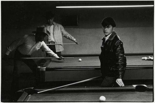 , 'Navajo Pool Room, Gallup, New Mexico,' 1973, Etherton Gallery