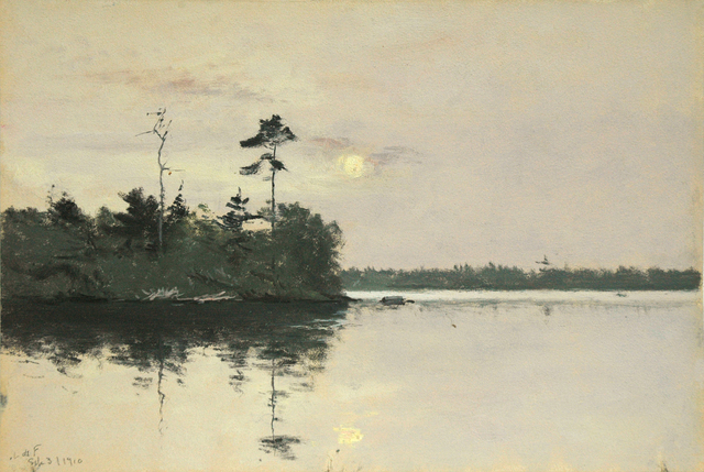 , 'Daylight Full Moon with Reflection,' 3, Sullivan Goss