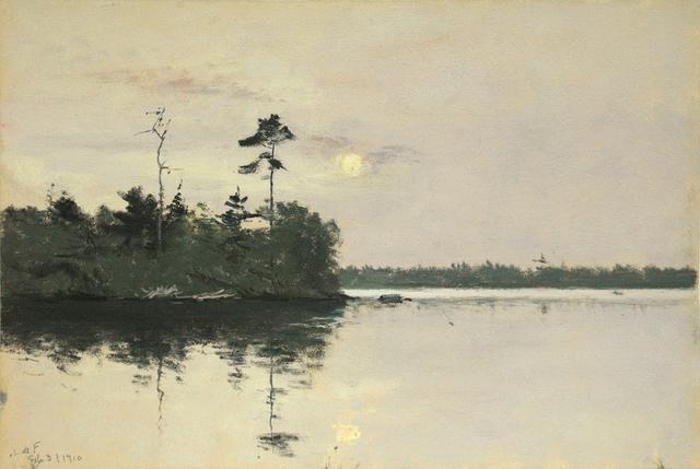 , 'Daylight Full Moon with Reflection,' 3, Sullivan Goss