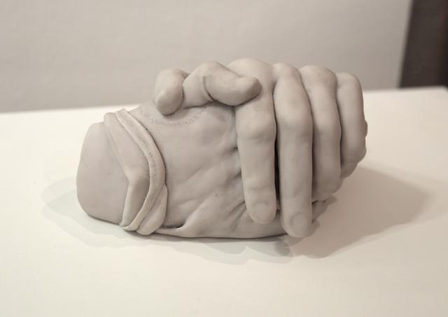 , 'Exploring Hands,' 2016, Max Estrella