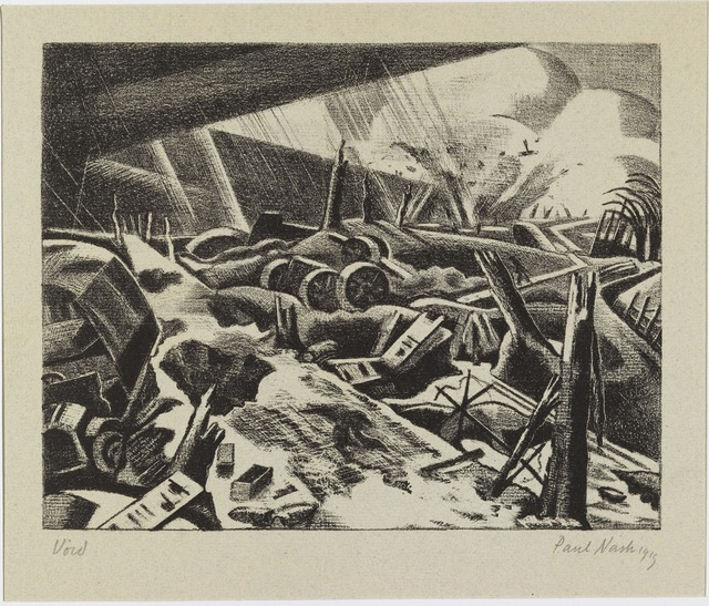 , 'The Void,' 1918, The Fine Art Society